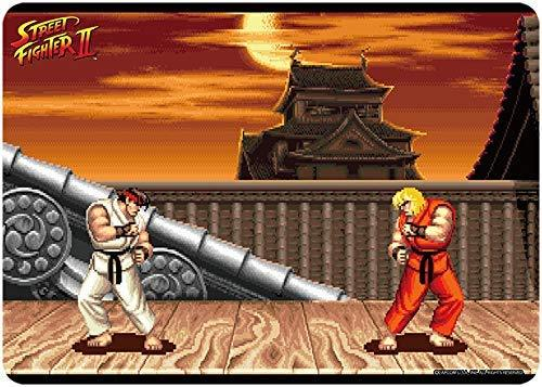 Street Fighter II - Ryu & Ken Masters - Character Rubber Playmat