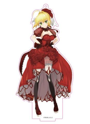 Fate/Extra Last Encore Red Saber Nero Augustus Aniplex AnimeJapan Acrylic Stand Key Chain
