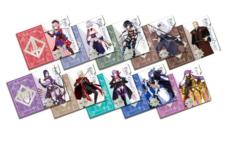 Fate Grand Order Collab Cafe Epic of Remnant A4 Clear File Type B *SET 10PCS* FGO