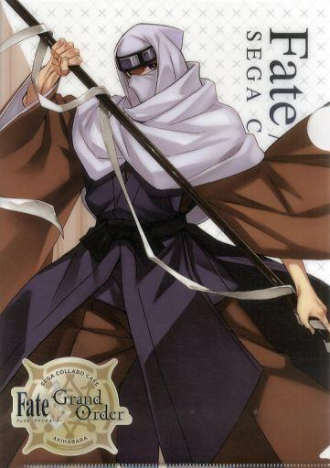Fate Grand Order Collab Cafe Epic of Remnant Lancer Houzouin Inshun A4 Clear File Type B FGO