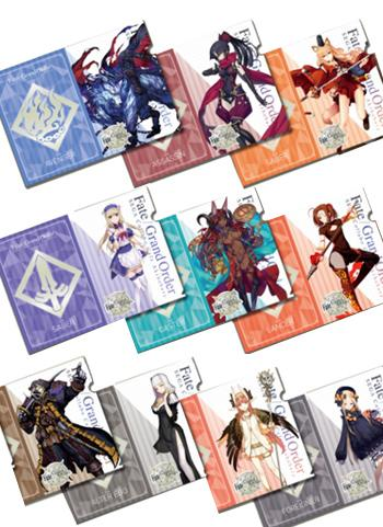 Fate Grand Order Collab Cafe Epic of Remnant A4 Clear File Type D *SET 10PCS*