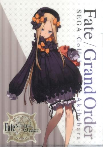 Fate Grand Order Collab Cafe Epic of Remnant Foreigner Abigail Williams A4 Clear File Type D FGO