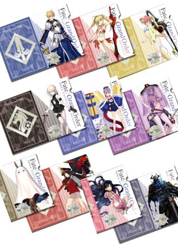 Fate Grand Order Collab Cafe Epic of Remnant A4 Clear File Type C *SET 10PCS*