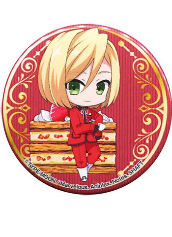 Fate/EXTRA Last Leonardo B. Harwey Collab Exclusive Can Badge