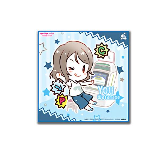 Love Live! Sunshine!! Collab Cafe Exclusive Microfiber Towel Arcade Ver.