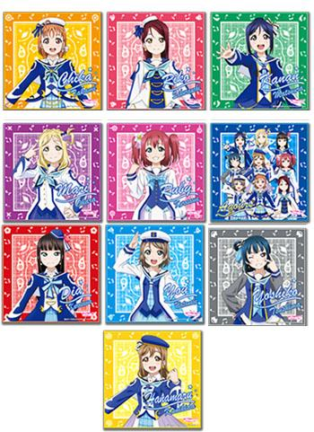 Love Live! Sunshine!! Collab Cafe Exclusive Microfiber Towel Mirai no Bokura Ver.