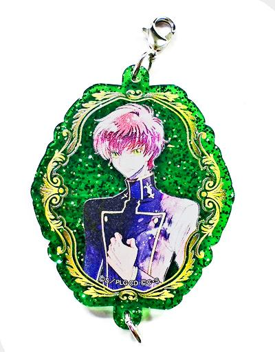 Code Geass Lelouch & Suzaku Cafe Exclusive Character Connecting Acrylic Charm