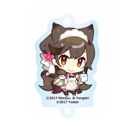 Azur Lane Cafe Atago Character Acrylic Key Holder Mascot