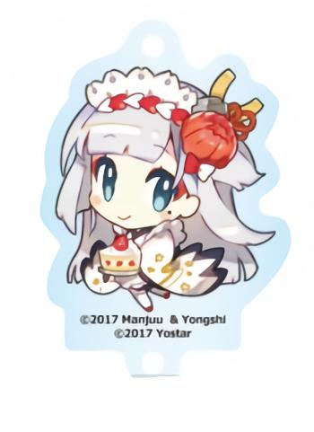 Azur Lane Cafe Shoukaku Character Acrylic Key Holder Mascot