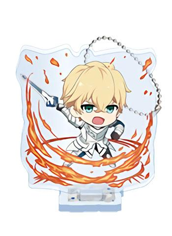 Fate/EXTRA Last Encore Saber Gawain Collab Exclusive Acrylic Key Chain Stand Action Ver.