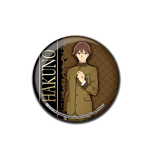Fate/EXTRA Last Encore Hakuno Kishinami Collab Exclusive Can Badge Button Pin V.2