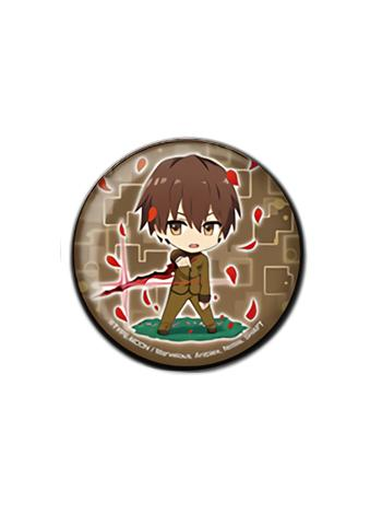 Fate/EXTRA Last Encore Hakuno Kishinami Collab Exclusive Can Badge Button Pin