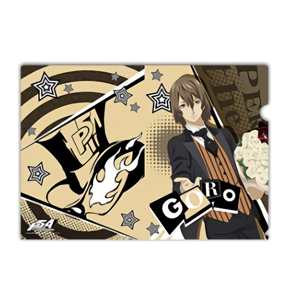 Persona 5 Goro Collab Exclusive Character A4 Clear File