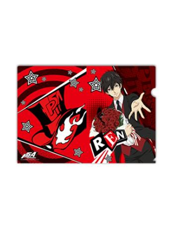 Persona 5 Amamiya Ren Collab Exclusive Character A4 Clear File