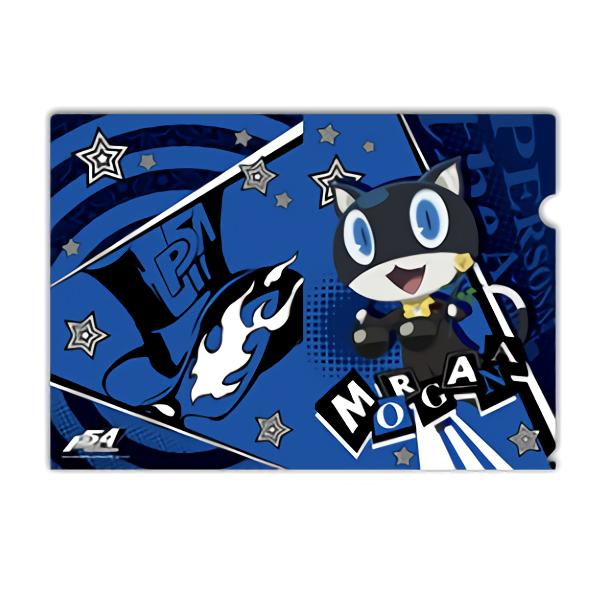 Persona 5 Morgana Collab Exclusive Character A4 Clear File