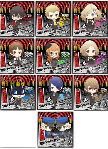 Persona 5 Collab Cafe Exclusive Microfiber Towel Type A