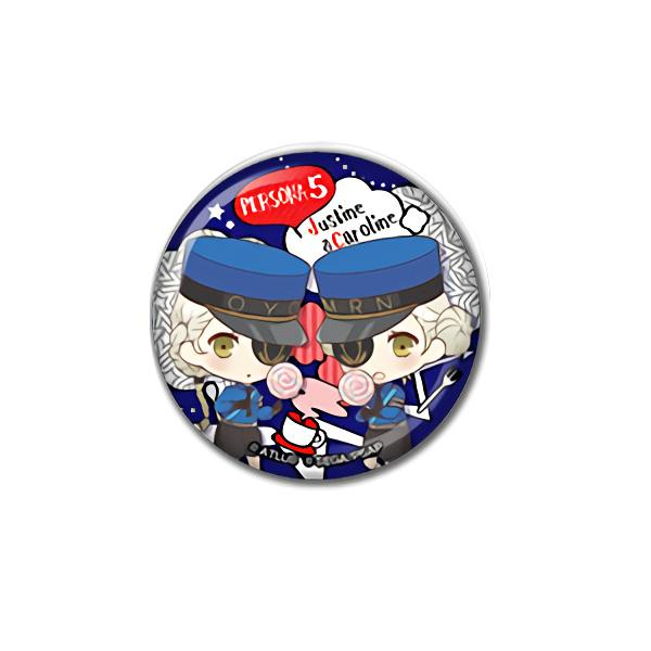 Persona 5 Collab Cafe Exclusive Can Badge Pin Type B