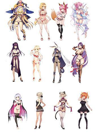 Fate Party Night Part 2 - Only For You Doujin Character Acrylic Stands FGO