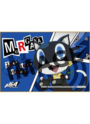 Persona 5 Morgana Tix. Redemption UFO Character Shikishi Card Autograph Board