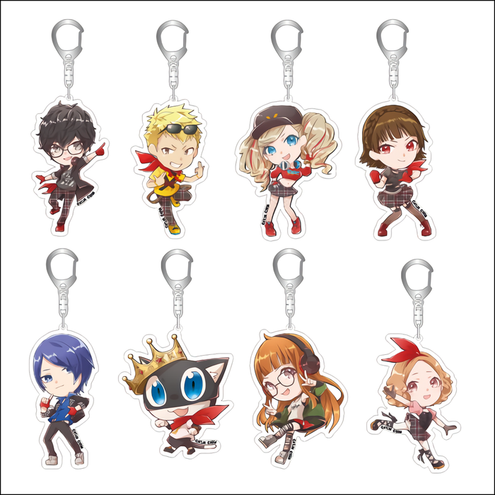 Persona 5 Dancing Star★Night Anne Panther Exclusive Acrylic Key Chain Mascot