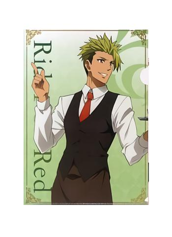 Fate/Apocrypha Cafe Rider of Red Achilles Exclusive A4 Clear File