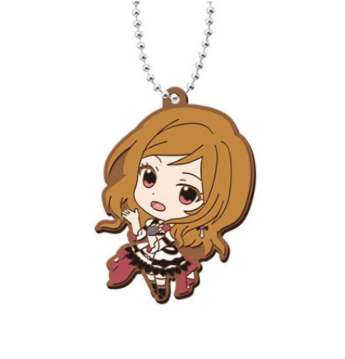 Idolmaster Cinderella Girls Million Live Capsule Rubber Mascot Key Chain