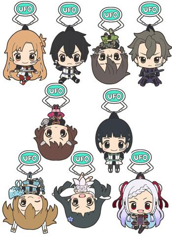 Sword Art Online Ordinal Scale UFO Pinch Tsumamare Acrylic Key Chain Mascot SAO