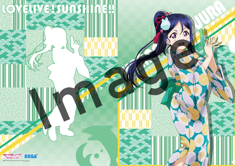 Love Live! Sunshine!! Yukata Ver. Kanan Exclusive Character Clear File