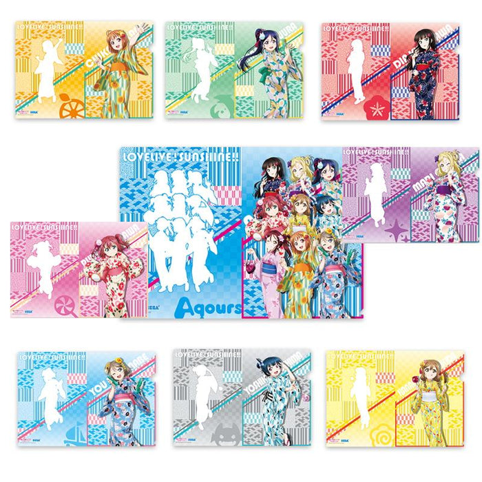 Love Live! Sunshine!! Yukata Ver. Full Cast Exclusive Character Clear File