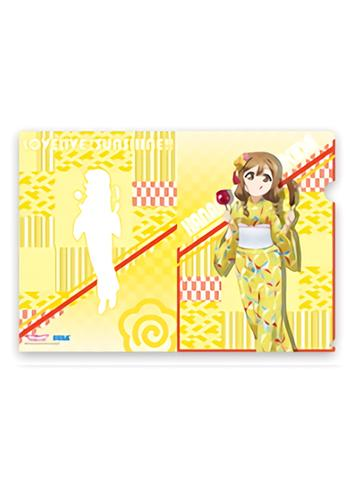 Love Live! Sunshine!! Yukata Ver. Hanamaru Exclusive Character Clear File