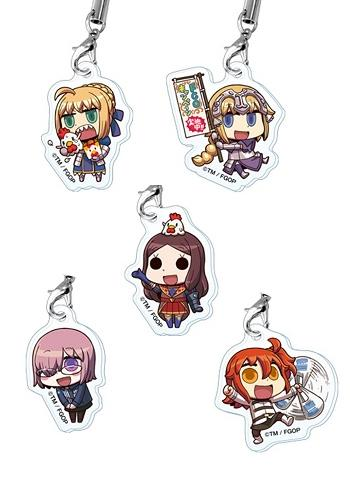 Fate Grand Order × Lawson Exclusive Acrylic Straps 2017