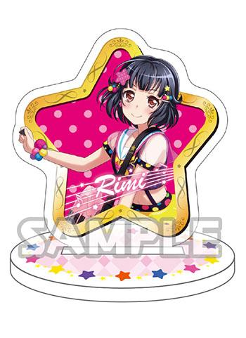 Bang Dream! Poppin' Party Petite Rimi Ushigome Rimirin Character Acrylic Stand