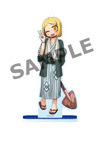 Fate Go Fest FGO Berserker Paul Bunyan Event Exclusive Acrylic Stand Mascot