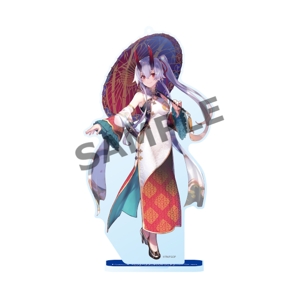 Fate Go Fest FGO Tomoe Gozen Inferno Archer Event Exclusive Acrylic Stand Mascot