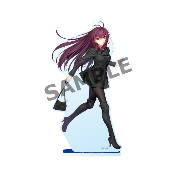 Fate Go Fest FGO Lancer Scathach Event Exclusive Acrylic Stand Mascot