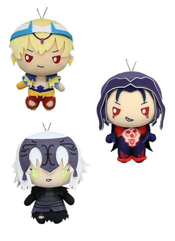 Fate Grand Order Sanrio - Cu Jeanne Gilgamesh - Prize Plush Toy Doll Vol.5 *SET of 3*