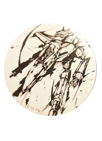 Macross F Frontier 10th Anniversary Ink Painting Can Badge VF-1