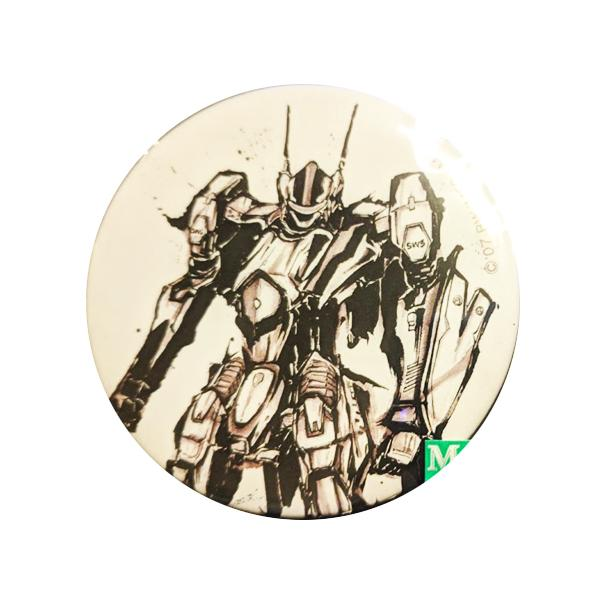Macross F Frontier 10th Anniversary Ink Painting Can Badge VF-25