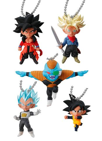 Dragon Ball Super UDM Burst 32 Ultimate Difference Capsule Mascot Swing Key Chain