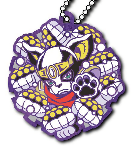 JoJo's Bizarre Adventure Iggy's Star Platinum Outfit Cosplay Key Chain Strap Glitter Ver.