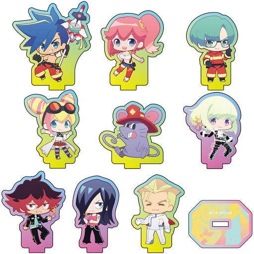 Promare Cafe PuniChara Character Mini Acrylic Stand