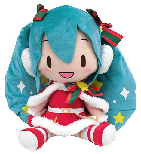 "Vocaloid Hatsune Miku Christmas 2019 Special Character 11"" Plush Toy Doll"