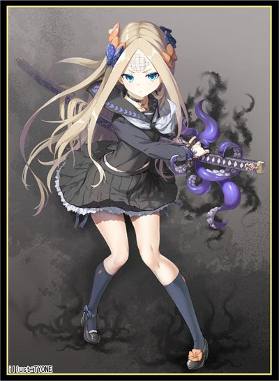 C97 Fate Grand Order FGO - Abigail Williams Foreigner Samurai Ver. Circle Cluster - Doujin Character Sleeves
