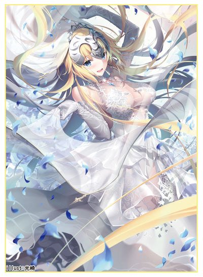 C97 Fate Grand Order FGO - Jeanne d'Arc Ruler White Wedding Ver. Circle Cluster - Doujin Character Sleeves by Kousaki