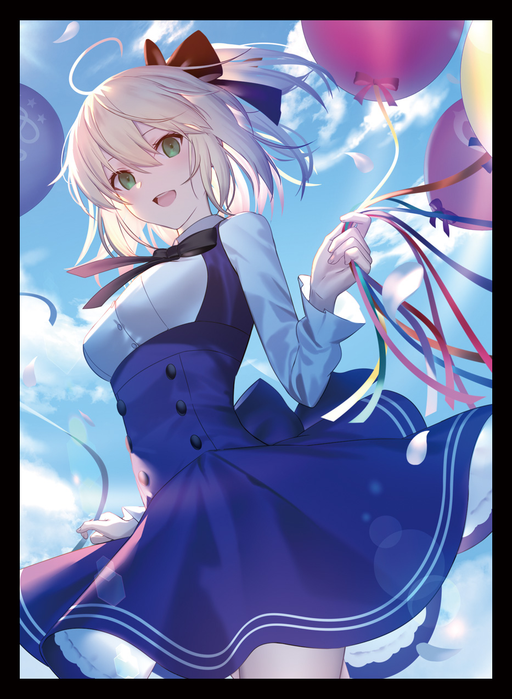 C97 Fate Grand Order FGO - Saber Lily Chaldea Park Outfit Ver. Circle Chaos Goddess - Doujin Character Sleeves