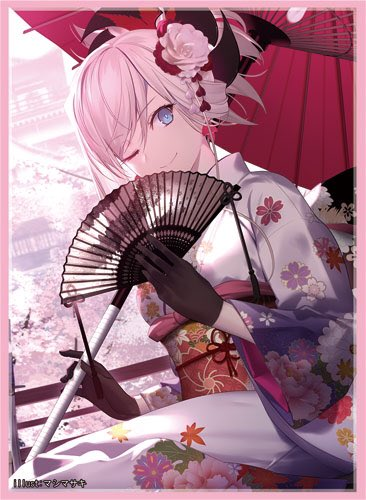 C97 Fate Grand Order FGO - Mushashi Saber Kimono Ver. Circle Frontier Game - Doujin Character Sleeves