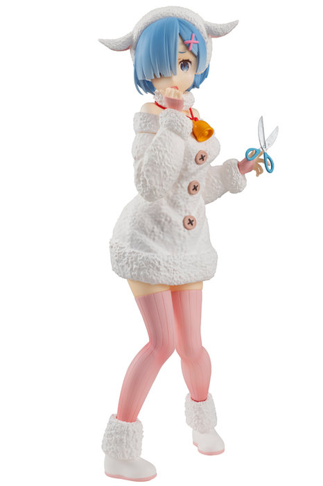Re: Zero - Rem Fairy Tale Wolf and 7 Sheep Ver. - Character SSS Prize Figure