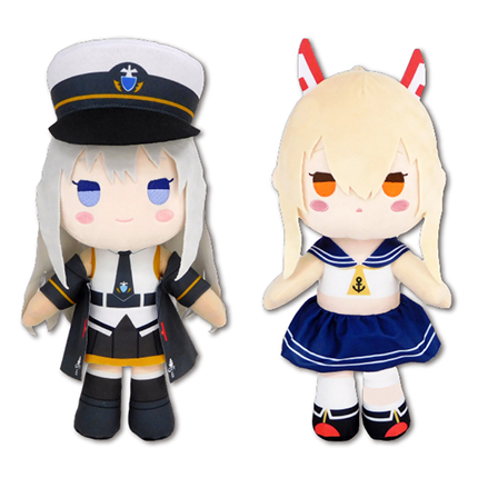 Azur Lane - Enterprise & Ayanami - Character Big Prize Plush Doll