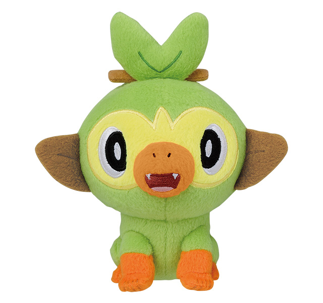 "Pokemon Sword & Shield Starter 6"" - Character Plush Doll Toy"