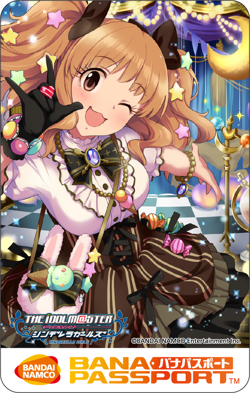Idolmaster Cinderella Girls Kirari Moroboshi - BanaPassport Limited Edition Memory Card